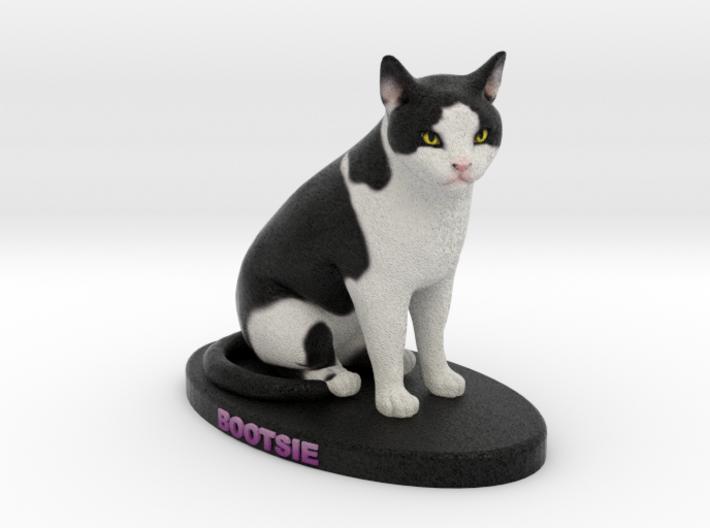 Custom Cat Figurine - Bootsie 3d printed