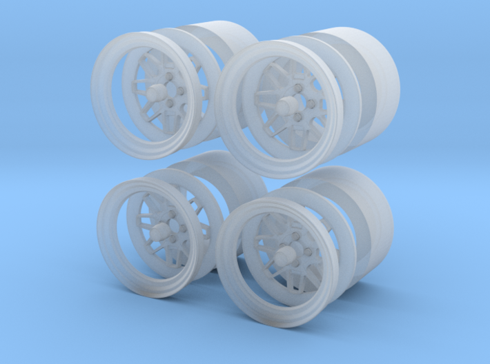"""Fatlace F/zer02 15"""" 1/24 pack 3d printed"""