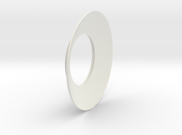 Lieberkühn Reflector 53mm lens diameter, f = 35mm  3d printed
