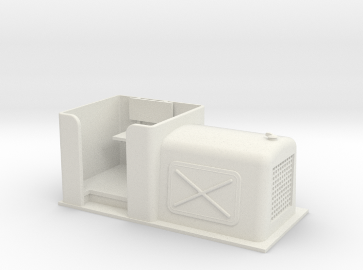 Gn15 small diesel loco 4 body 3d printed