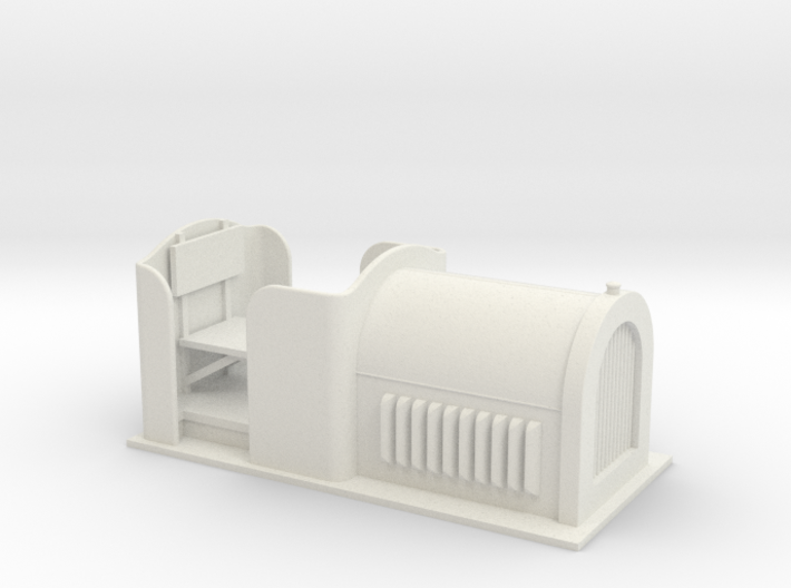 Gn15 small diesel loco 7 body 3d printed