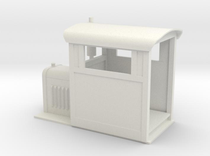 Gn15 small Whitcomb loco body 3d printed