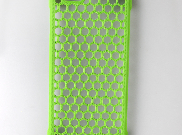 iPhone 6 shell Honeycomb 3d printed printed by me