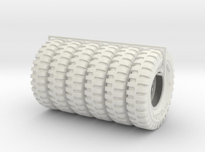 1-18 6x tire 1200x20 3d printed