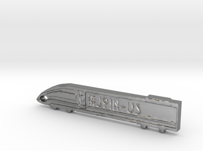 ZWOOKY Style 28 Sample - Train keyring 3d printed