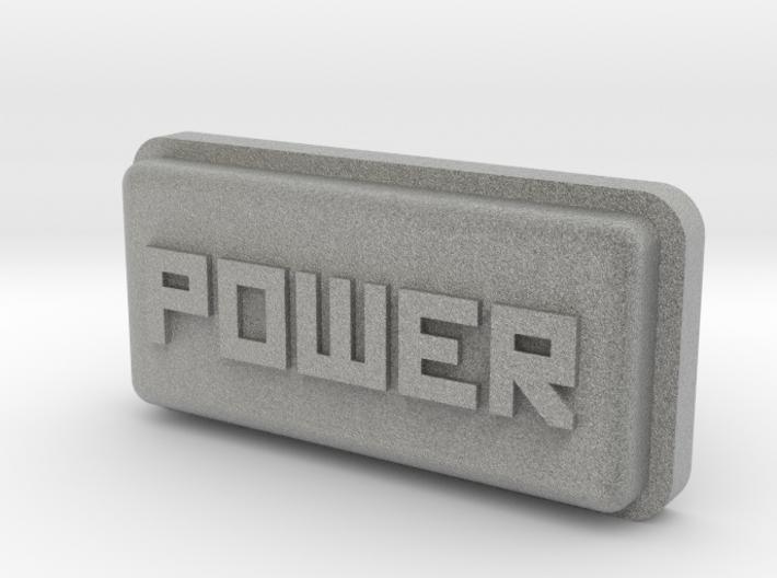 Uzebox Power Button 3d printed