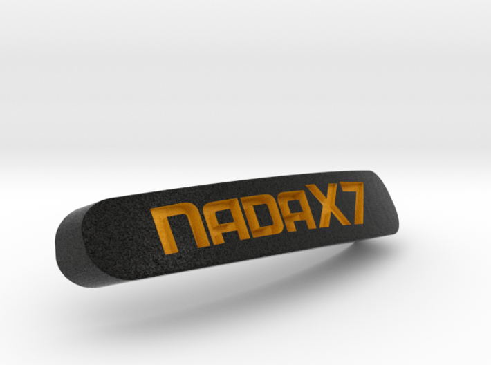 NadaX7 Nameplate for SteelSeries Rival 3d printed