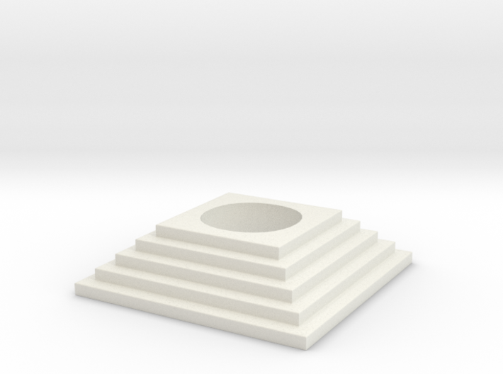 Stairs tealight 3 3d printed