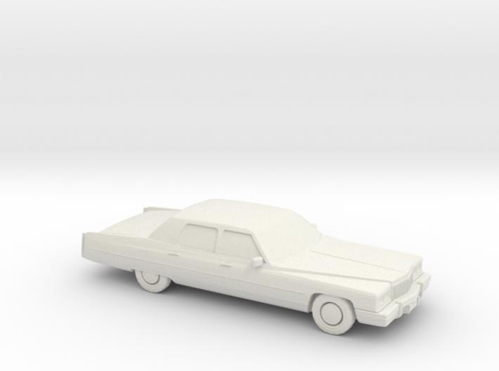 1/87 1975 Cadillac Fleetwood Brougham 3d printed