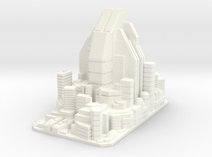 Futuristic city concept 2 - City of Minerva 3d printed