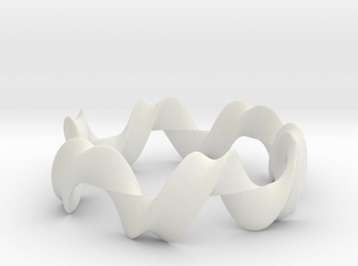Mobius bracelet 06 3d printed