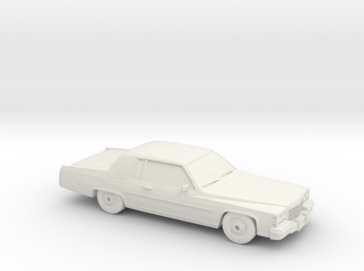 1/87 1984 CadillacDeVille Coupe 3d printed