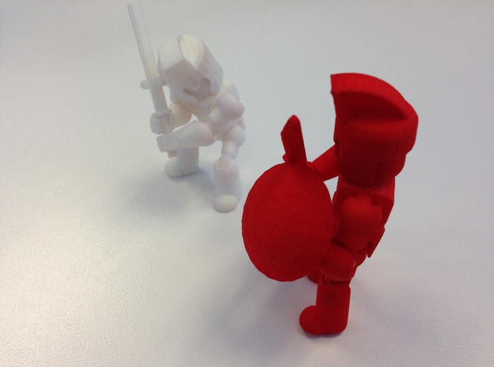 Base Minifigure 3d printed