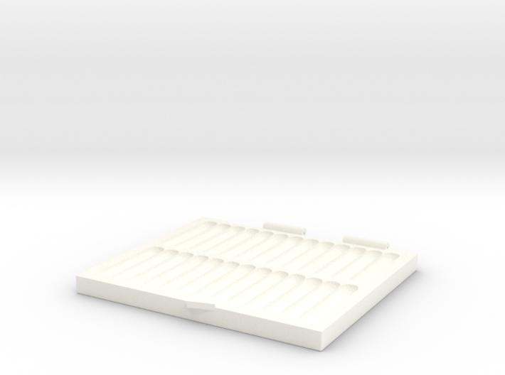 Portable Pinning Mat 3d printed