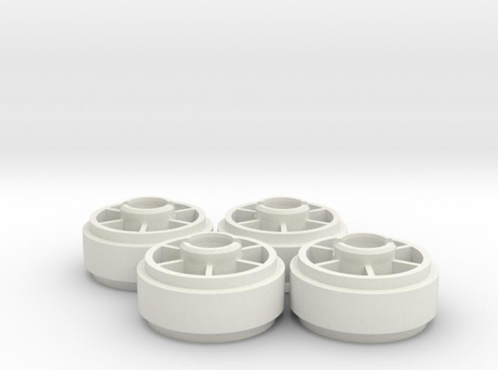 Mini-z NSR5229 20mm +2 Wheelset 3d printed