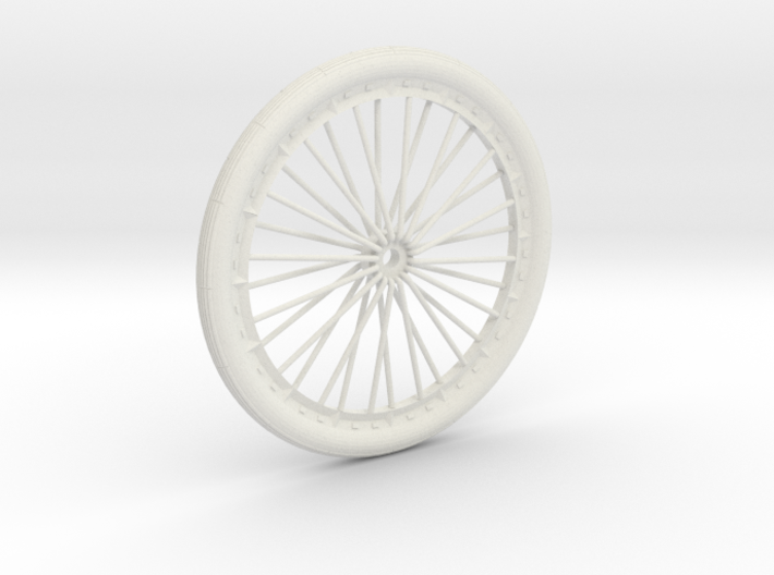 Bicycle wheel miniature 3d printed bicycle wheel miniature