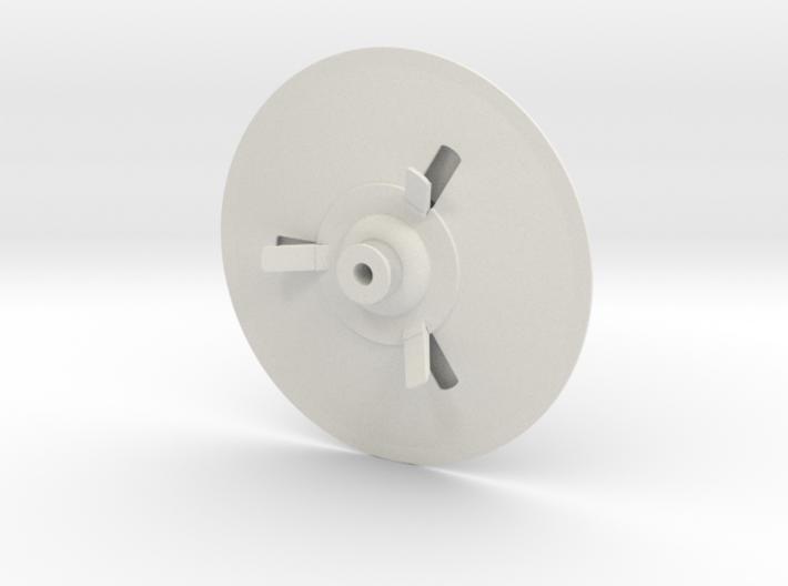 C-57D, 100 mm diameter, single piece 3d printed