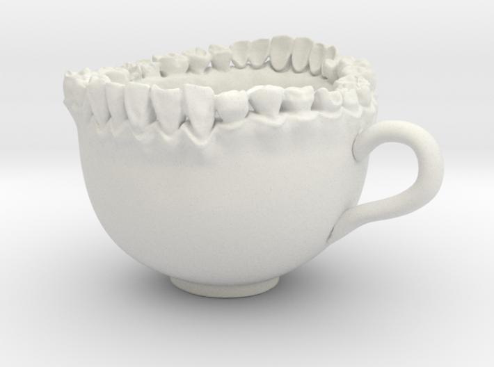 Large Teeth Tea Mug 3d printed