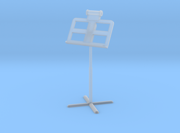 Miniature 1:24 Music Stand 3d printed