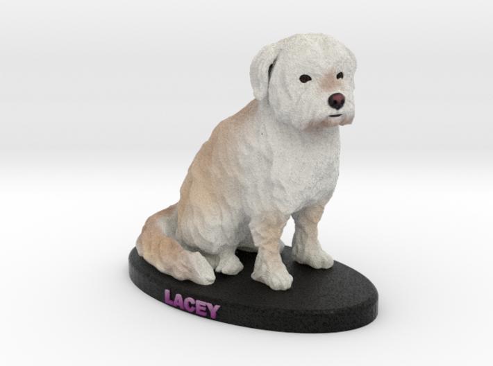 Custom Dog Figurine - Lacey 3d printed