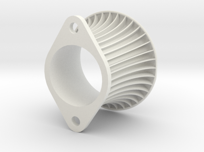 Intake Trumpet AE101 60 mm one side trimmed 3d printed