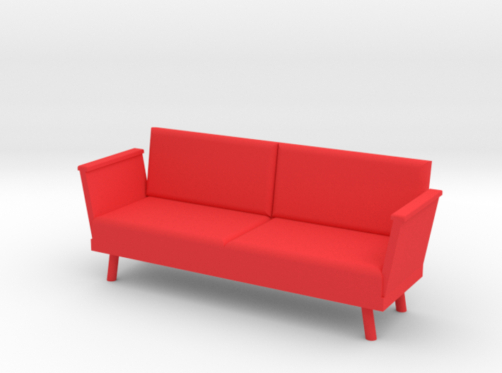 Doll Couch (1:12 scale) 3d printed