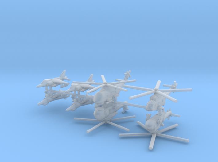 1/700 Italian Naval Aviation Kit 3 3d printed