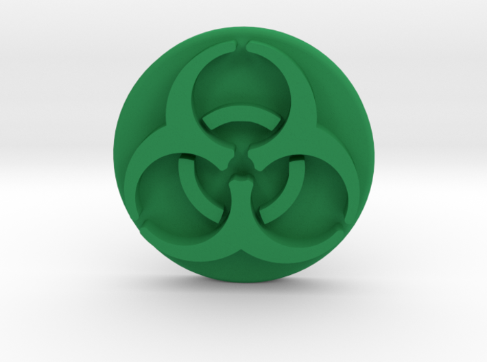 Pandemic Infection Marker -- Biohazard Symbol 3d printed