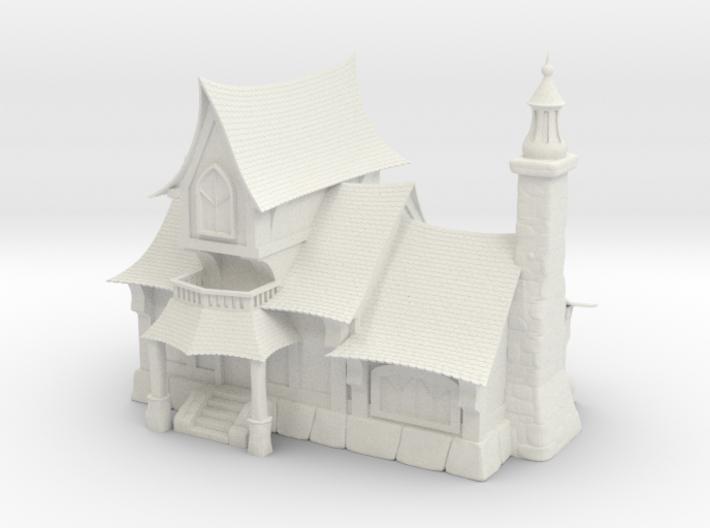 Fantasy Tavern (Large Size) 3d printed
