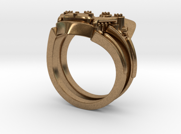 V-Twin Ring (8.5) 3d printed