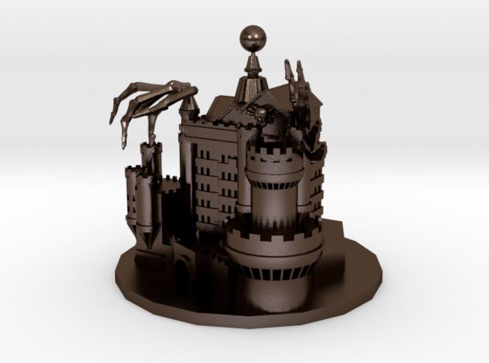 Devil castle 3d printed