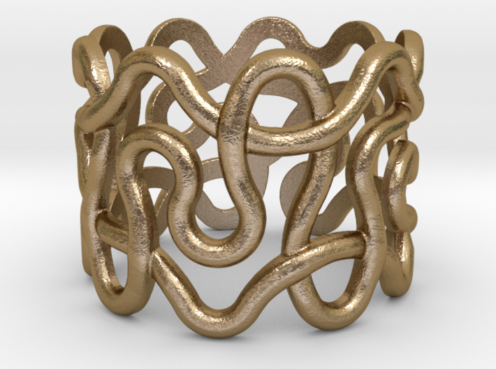 Loose Plonter ring size 7 3d printed