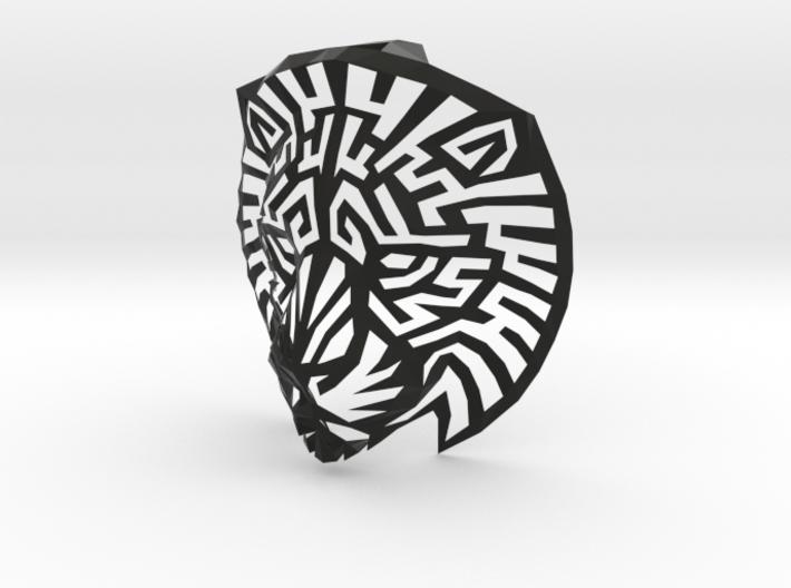 Lion Head (L) Faux Taxidermy  3d printed