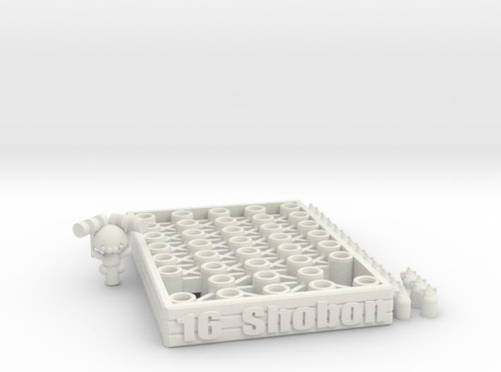 16 Shobon 3d printed
