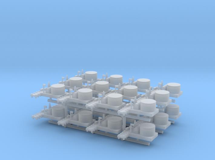Small Naval Base x24 3d printed