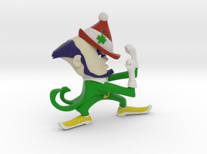 Fighting Irish Christmas Style (ornament) 3d printed