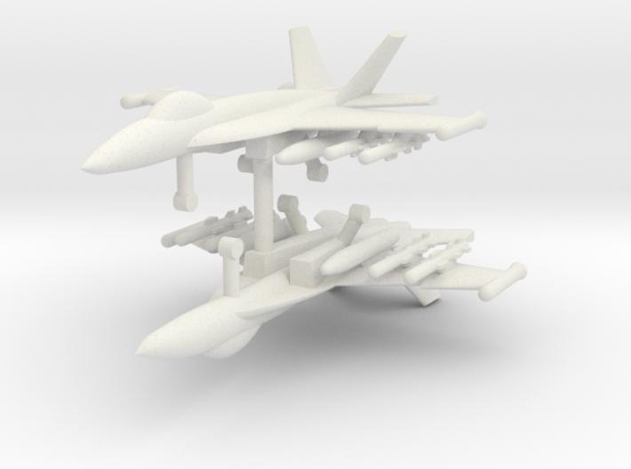 1/285 F-18E Super Hornet (Anti-Ship Loadout) (x2) 3d printed