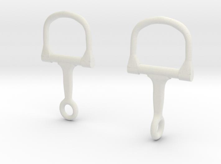 Stirrup Saddle 3d printed