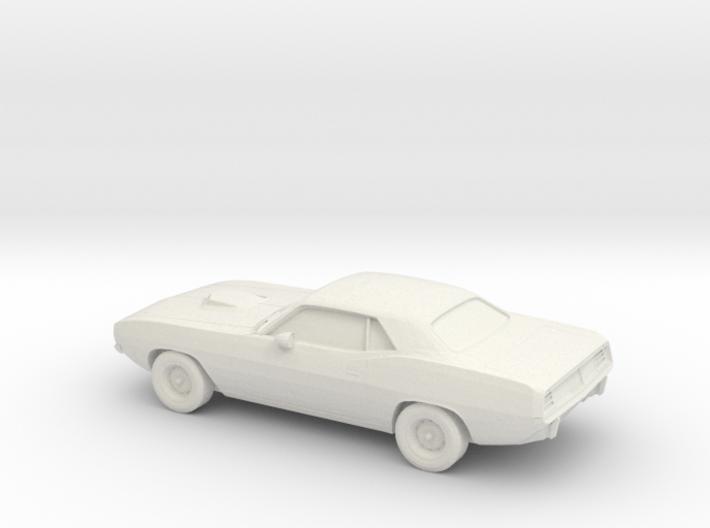 1/87 1971 Plymouth Baracuda 3d printed