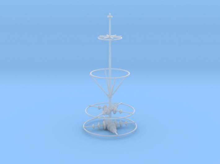 Spire Upper V0.1 3d printed