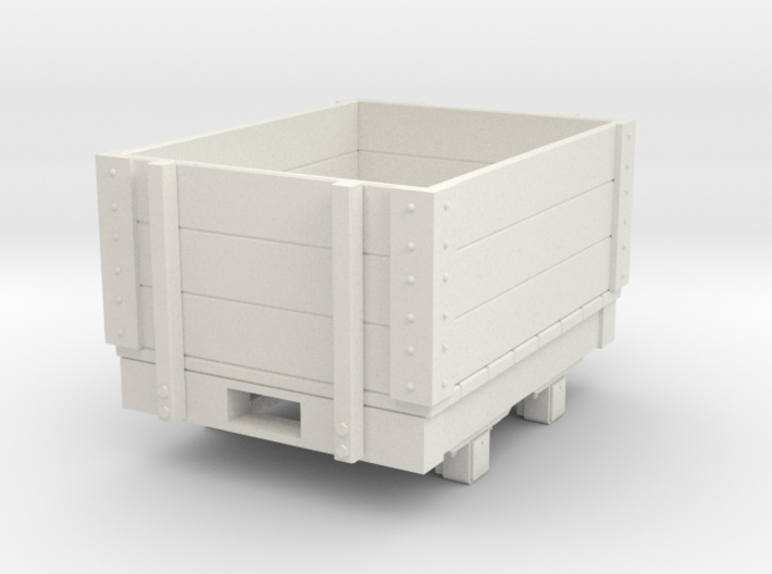 Gn15 small 4ft open wagon 3d printed