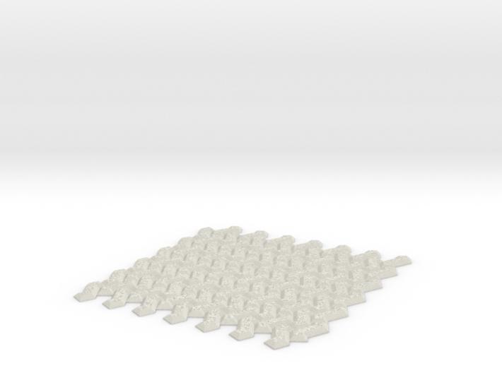 Mosaic (Daai_3d) 3d printed
