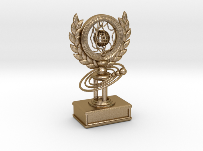 Trophy of Galaxy 3d printed