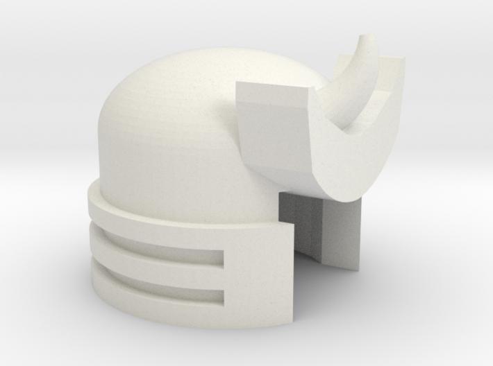 Robohelmet: Marvelous Boom Flap 3d printed