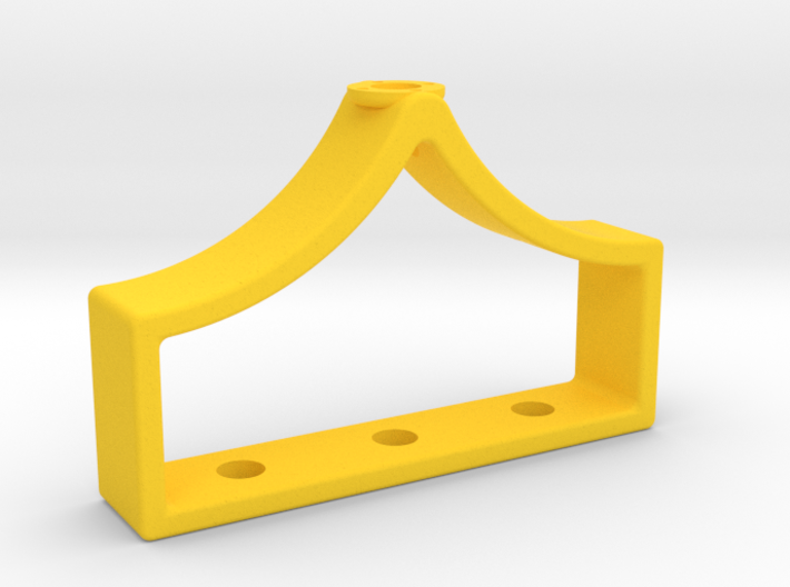 Inventing room key Body (1 of 9) 3d printed