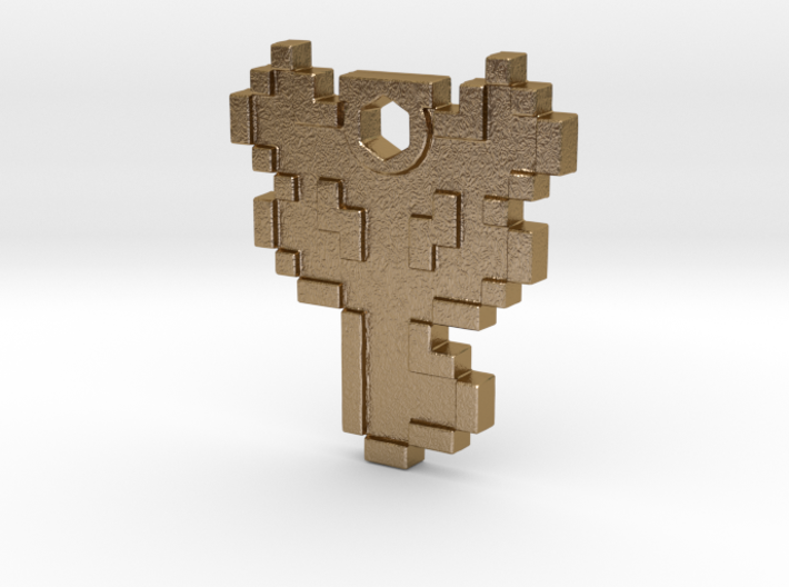 Zelda Boss Key Necklace 3d printed