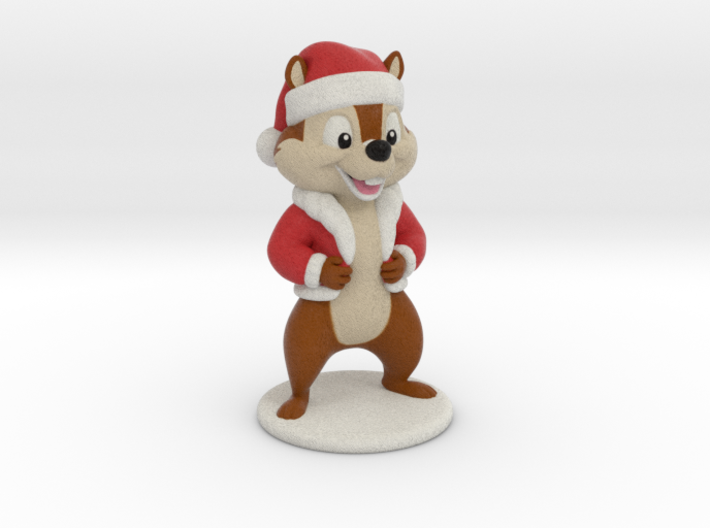 Cartoon Chipmunk. 8cm 3d printed