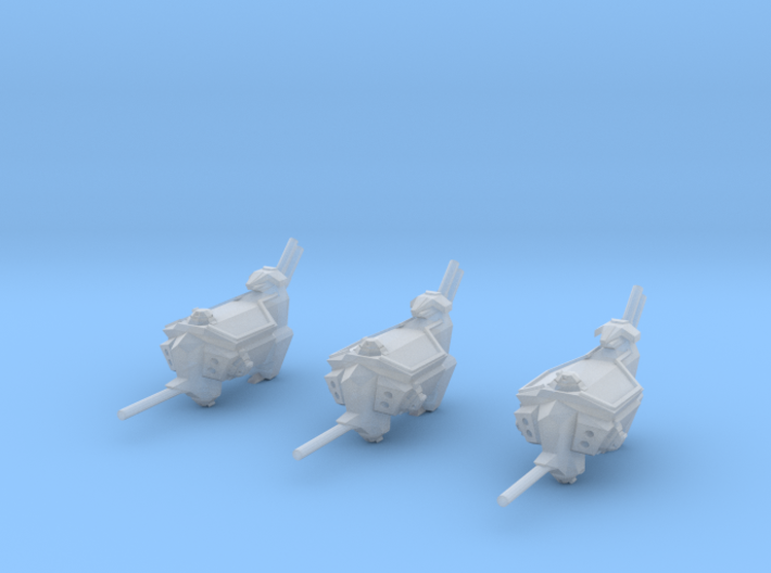 "Kushan ""Vengeance"" Assault Frigates (3) (Variant) 3d printed"