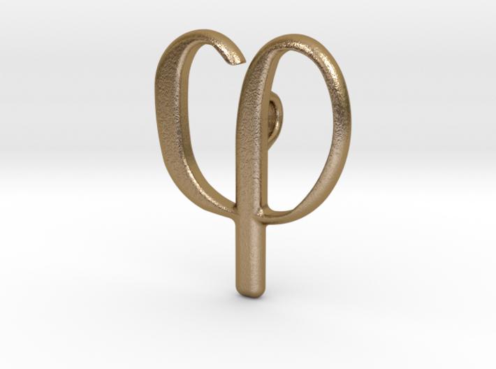 Smykke - Phi vedhæng 3d printed