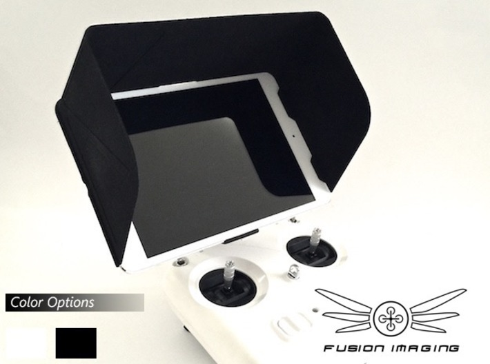 iPad Mini Visor / FPV Deep Hood - Easy Glide 3d printed iPad Mini Visor / FPV Deep Hood - Easy Glide
